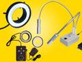 実体顕微鏡用LED照明装置カテゴリー